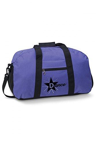 Danshuz Tanztasche mit Stern Violett (Sterne Dancewear)
