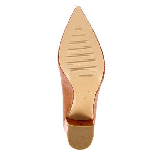 Evita Shoes Romina, Scarpe col tacco donna cognac