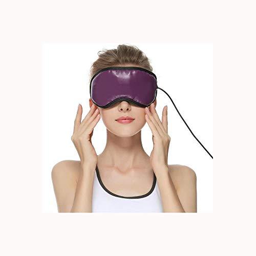 MaoDaAiMaoYi Usb Elektrische Heizung Augenmaske Augenmagnetmassage Um Zu Erleichtern Beugen Kurzsichtigkeit Vor Mode Living Eyemask Schlafbrille Niedliche Für Party Reisen Augenmaske Pause Reise -