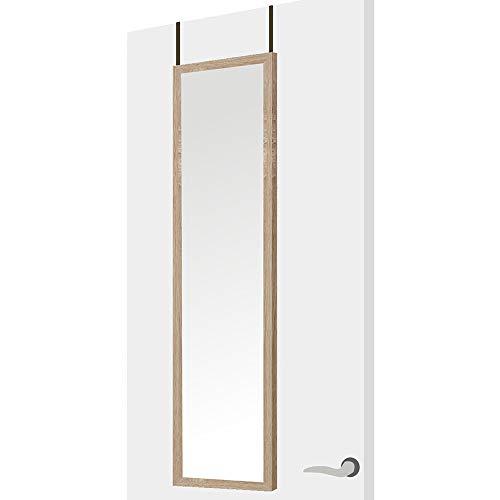 Espejo Puerta Madera MDF Beige nórdico Dormitorio