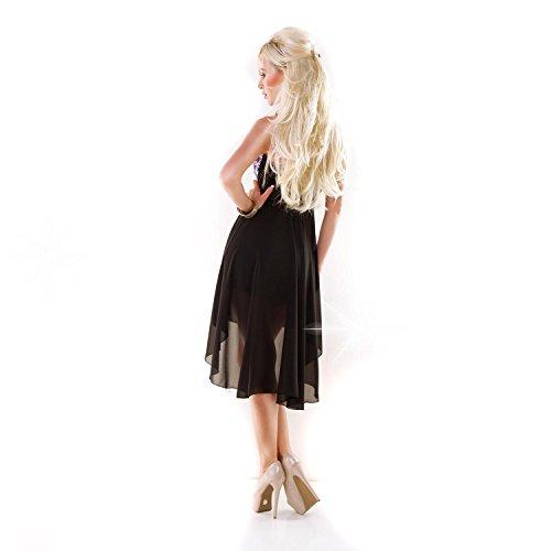 Fashion - Robe - Femme Taille Unique Noir