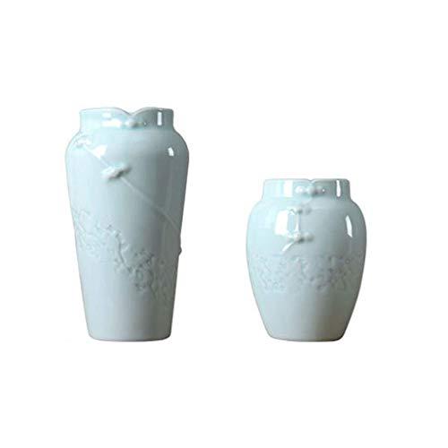 Kreatives Günstiges Heimhandwerk Kleine Vase handgemachte Keramik getrocknete Blumen Wohnzimmer Blumenschmuck Ornamente handgemachte Blume Gerät, hydroponisch (Keramik-vasen Günstige)
