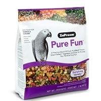 Pet accessories Pet food bird food Zupreem PURE FUN PARROTS & CONURES 2 LB (0.91KG)