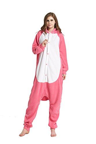 URVIP Jumpsuit Tier Cartoon Fasching Halloween Kostüm Sleepsuit -