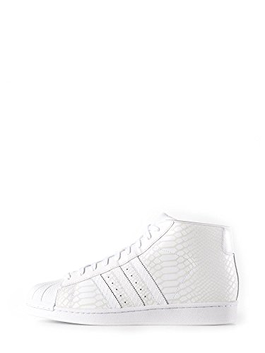 Adidas, Donna, Promodel Bianco, Pelle, Sneakers, Bianco, 40