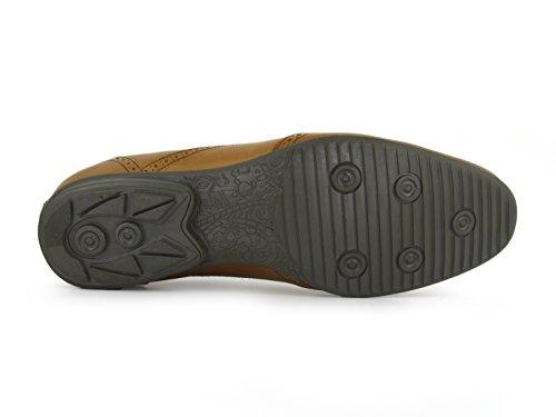 J.BRADFORD Chaussures Richelieu JB-OLIVER Camel Marron