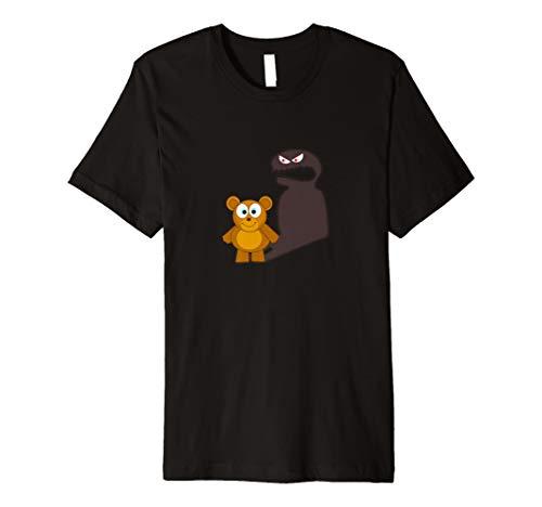 (Teddy Bär Scary Shadow T-Shirt)