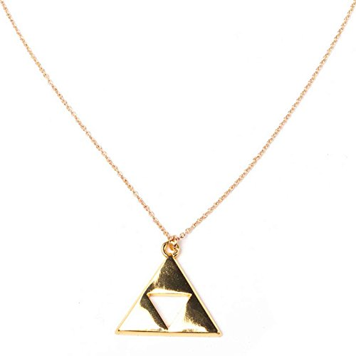 Legend Of Zelda Necklace Triforce logo symbol Nue offiziell Nintendo (Legend Of Zelda Hat)
