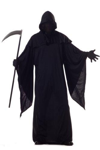 Halloween Grim Reaper Costume - - Grim Reaper Kostüm