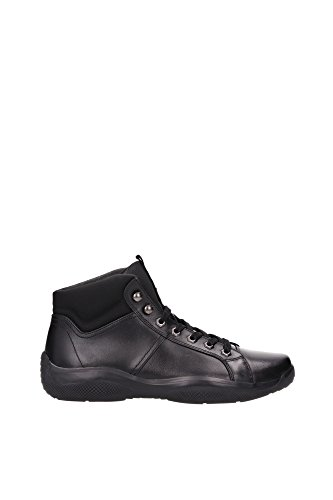 Sneakers Prada Uomo Pelle Nero 4T2762NERO Nero 41EU