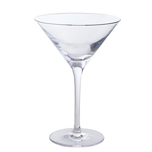 Dartington 2-teiliges Set mitWein- Und Martini-Glas, Kristallglas Crystal-martini-cocktail
