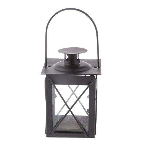 Oudan 10 Stücke Shabby Französisch Laterne Kerzenhalter Teelicht Kandelaber Leuchter Tischplatte Garten Indoor Decor (Farbe : -, Größe : -) - Französische Kandelaber
