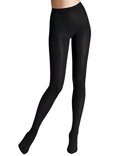 Wolford Mat Opaque 80, Medias para Mujer, 80 DEN, Negro (, Large