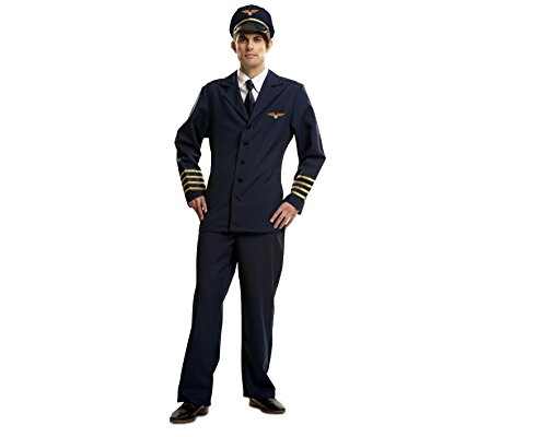 MY OTHER ME - DISFRAZ DE PILOTO  TALLA M-L (VIVING COSTUMES MOM00971)
