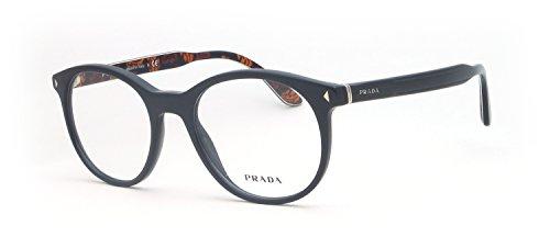 Prada - PRADA PR 14TV, Rund, Acetat, Herrenbrillen, GREY(VAT-1O1), 50/19/145 Prada Brillengestelle Männer