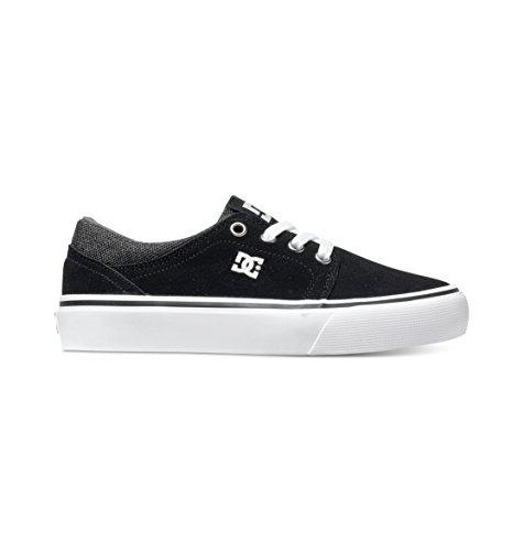 DC Shoes - Trase Sd, Scarpine primi passi Unisex – Bambini Nero (Noir (Black/Grey/White))