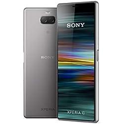 """Sony Xperia 10 - Smartphone débloqué 4G (Ecran : 6"""" - 64 Go - Double Nano-SIM - Android) - Argent"""