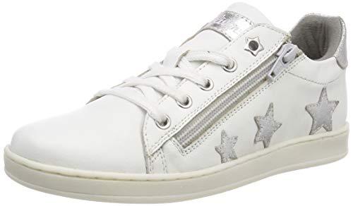 s.Oliver Mädchen 5-5-43215-32 193 Sneaker, White/Silver, 33 EU