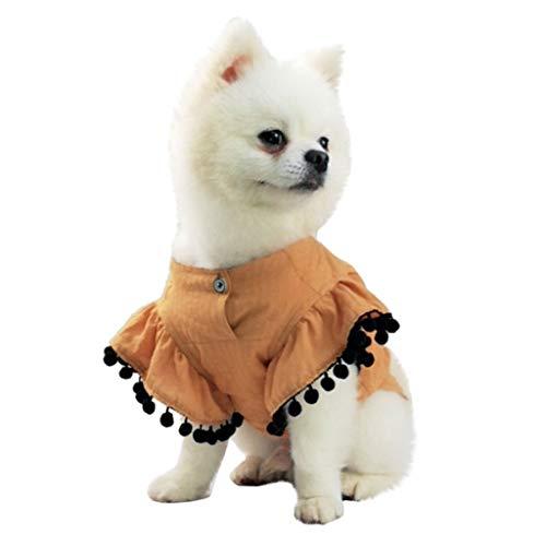 Kostüm Einfach Einen Für Hunde - Hawkimin Haustier Hund Mantel Mode Neue Haustier kostüme frühling und Sommer atmungsaktiv einfache Fliegende hülse Hemd