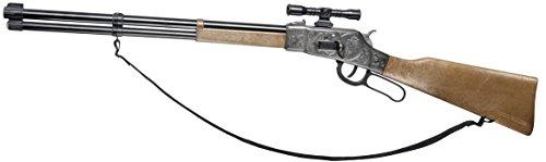 Villa Giocattoli - 3142 - Fusil 12 coups - Comanche - en vieux métal - Vieux métal