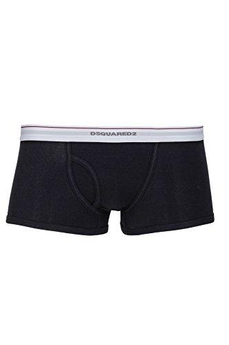 Dsquared² Classic Knit Short Boxer RIB COTTON JERSEY Nero