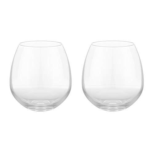 Rosendahl Design Group Premium Wasserglas 2er Set, transparent 52cl H 10,27cm Ø 9,75cm
