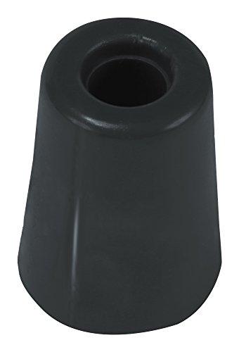 Brinox Anschlag Tür groß mit Schraube 5x3.7x3.7 cm Schwarz