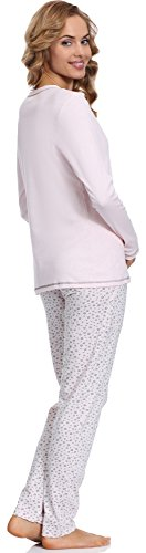 Italian Fashion IF Allaitement Pyjama Femme Liwia Mama 0223 Saumon