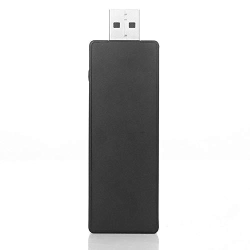 Adaptateur USB récepteur sans fil pour Microsoft pour Win7 / Win8 / win10 PC Ordinateur portable Tablet Compatible avec le contrôleur Xbox One (noir)