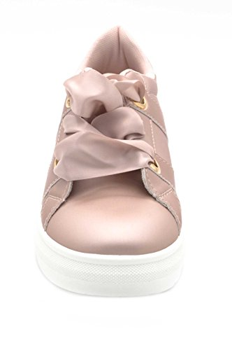 Oui Fashion Damen Sneaker Rose