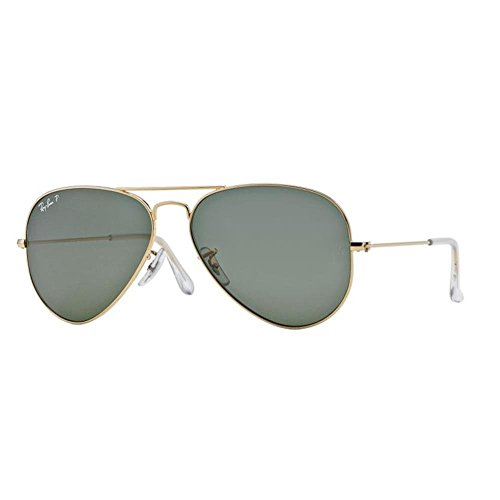 Ray-Ban Aviator Sunglasses (Gold) (RB3025|001/58|58)
