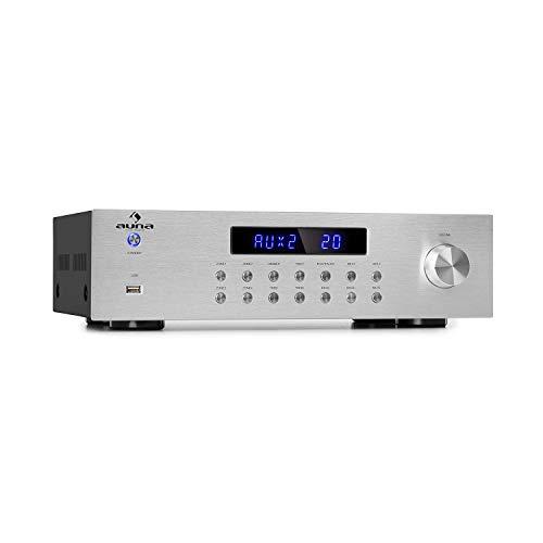 Auna AV2-CD850BT - Amplificador estéreo hi-fi