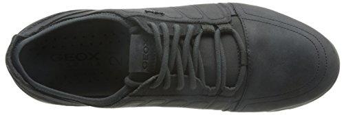 Geox , Chaussures de ville à lacets pour homme Gris