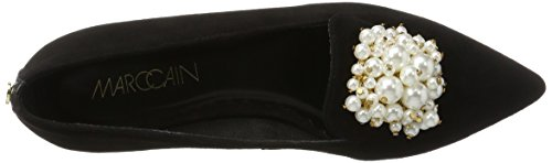 Marc Cain Ladies Hb Sf.01 L15 Ballerine Chiuse Nere (nero)