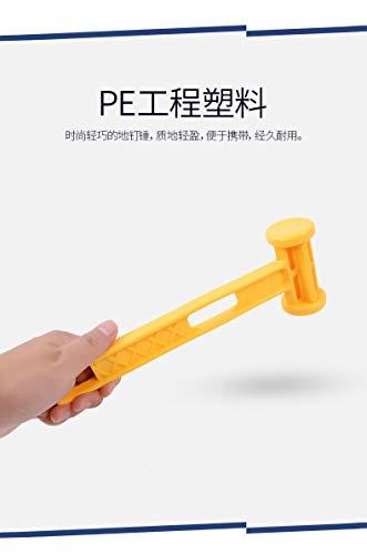 Nowear Outdoor Kunststoff Hammer Knocking Camping Nägel Stake Extractor Puller tragbare Ultra Light Weight Hammer
