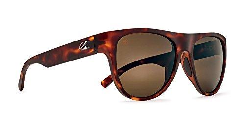 Kaenon Moonstone Sonnenbrille, Rahmen und Farbe der Gläser, Braun (Matte Tortoise), Einheitsgröße