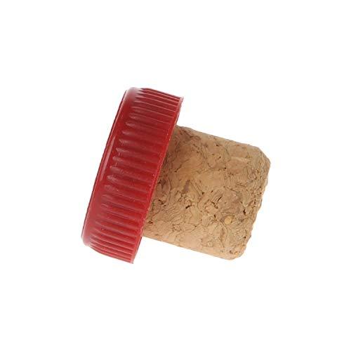 3 Stück/Set Weinflaschenverschluss, Kork, T-Form, Verschlusskappen, für Küche und Bar, Legierung, 3pcs Red, Größe Expan Kit