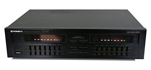 Pioneer GR-555 Graphic Equalizer in schwarz