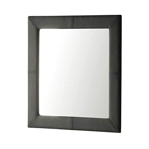 Adec - Espejo de Pared tapizado, Espejo Cuadrado salón, recibidor, Comedor, Dormitorio,...