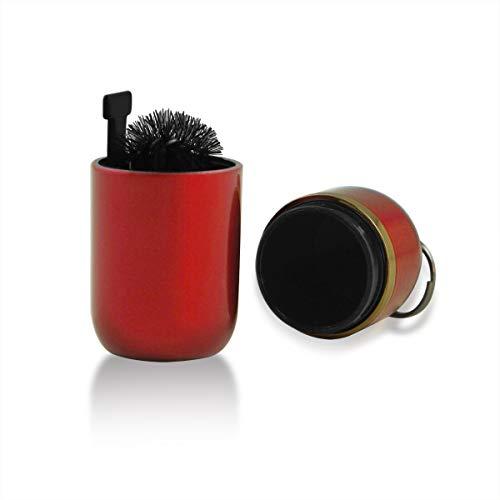 Pulitore Dispositivo per IQOS, Colore Rosso con Artigianato a Olio (03- Rosso)