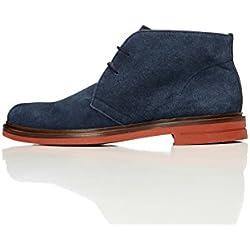 FIND Herren Desert-Boots Blau (Navy), 40 EU