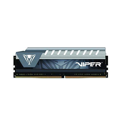 Price comparison product image Patriot Viper Elite Series DDR4 16GB PC4-21300 2666 MHz Memory Module (Black / Grey) - PVE416G266C6GY