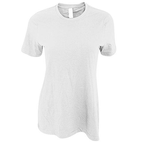 American Apparel - Classica maglietta a maniche corte - Donna (XL) (Bianco)
