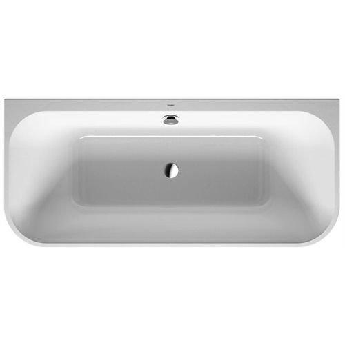 Duravit Badewanne Happy D.2 1800x800mm Vorwand, mit Acrylverkleidung, weiss, 700318000000000
