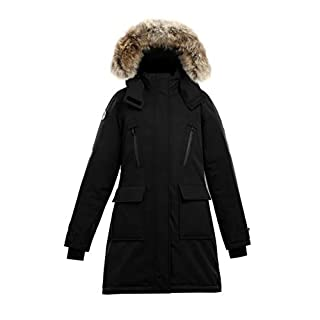 Triple F.A.T. Goose Aisen Collection | Suvo Women's Waterproof Insulated Jacket (Small, Black)