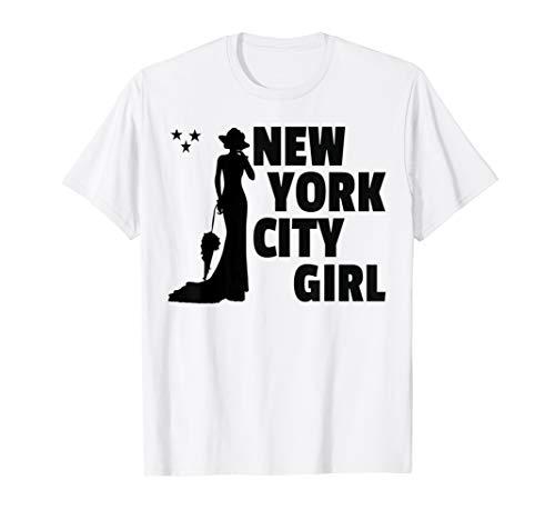 New York City Girl Womens Girls Gift Cute T-Shirt -