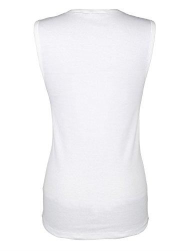 Damen Blazershirt mit besticktem Tülleinsatz by Simone Weiß