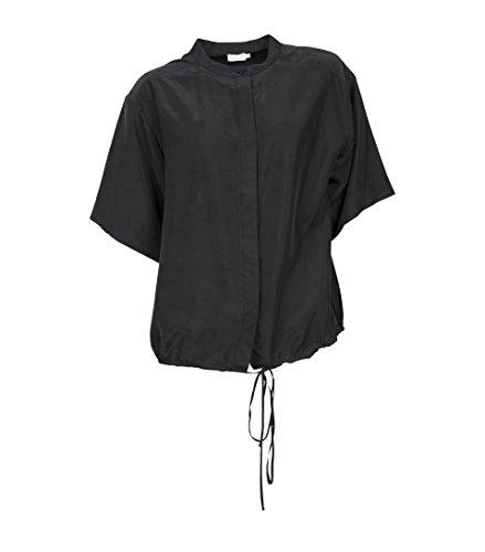 filippa-k-camisas-con-botones-basico-manga-larga-para-mujer-negro-l
