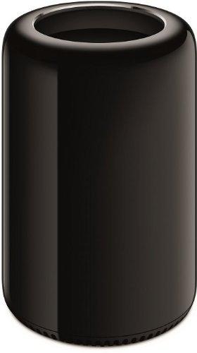 Apple Mac Pro Tower Desktop (Xeon E5 3.7GHz, 12 GB RAM, 256 GB SSD, AMD FirePro D300 Dual GPU, OS Sierra) - Black - 2013 (Refurbished) (Desktop Mac Refurbished Pro)
