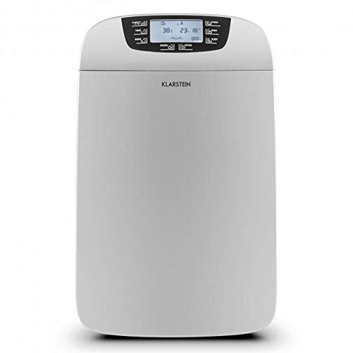 Klarstein Drybest 35 Déshumidificateur d'air assainisseur (contre la moisissure, puissance de 530W, 35L/jour, réservoir de 6L, arrêt automatique, design moderne)